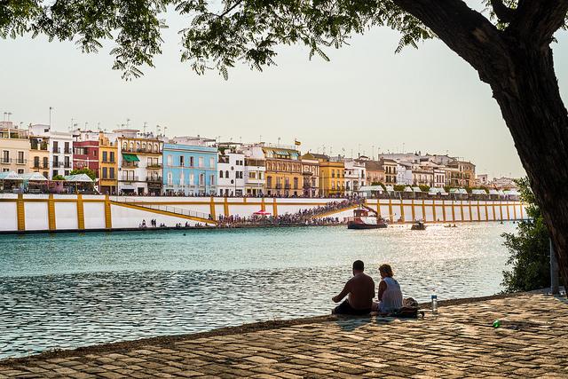 Sevillanas music travel in Spain