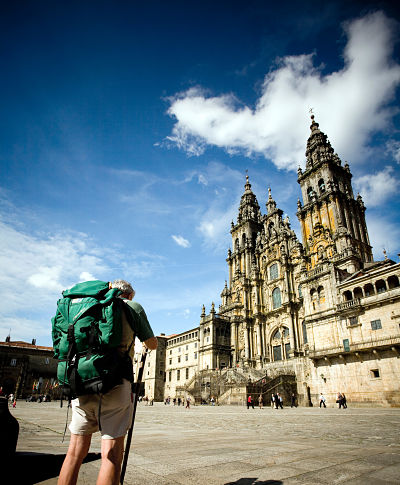 The end of Camino de Santiago