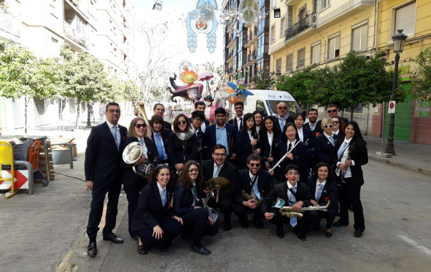 Band trips in Spain