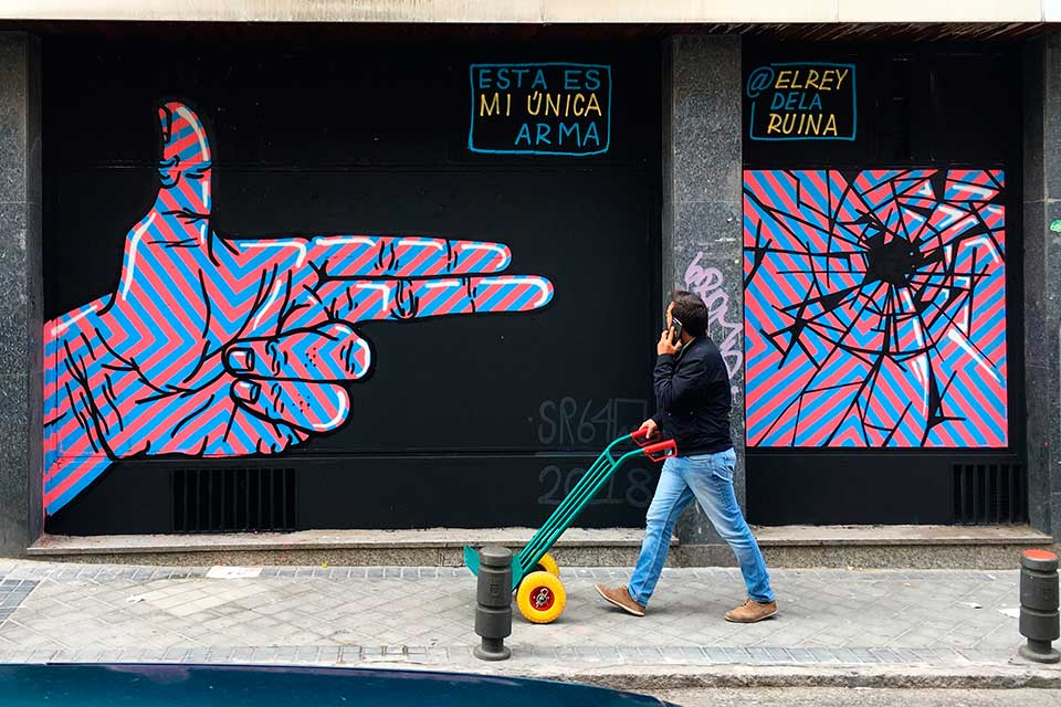 graffiti Madrid